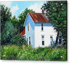 White House Acrylic Print by William  Brody