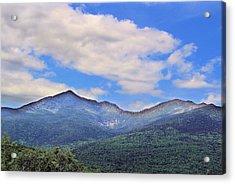 White Mountains Acrylic Print by Andrea Galiffi