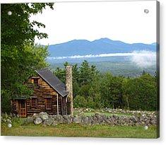 White Mountains Nh Acrylic Print