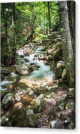 White Mountains Stream Acrylic Print by John Crookes