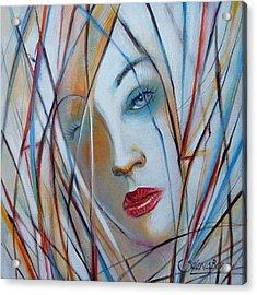 White Nostalgia 010310 Acrylic Print