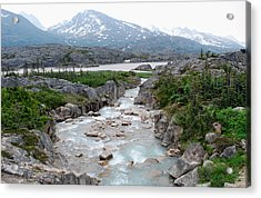 White Pass Acrylic Print by Terence Davis