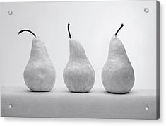 White Pears Acrylic Print by Krasimir Tolev