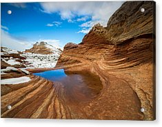 White Pocket Utah 2 Acrylic Print