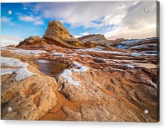 White Pocket Utah 3 Acrylic Print