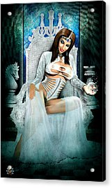 White Queen Acrylic Print