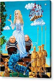 White Queen. Part 3 Acrylic Print by Igor Postash