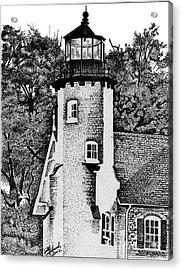 White River Station Acrylic Print