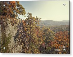 White Rock Mountain View Acrylic Print