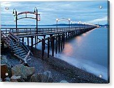 White Rock Pier Acrylic Print