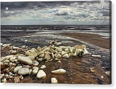 White Rocks Acrylic Print by Svetlana Sewell