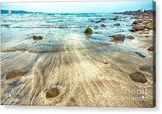 White Sand Beach Acrylic Print