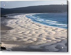 White Sands  Acrylic Print by Aidan Moran