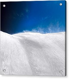 Acrylic Print featuring the photograph White Sands Desert by Julian Cook