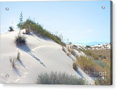 White Sands Icing Acrylic Print by John Kelly