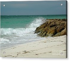 Acrylic Print featuring the photograph White Sands by Judy Palkimas