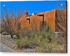 White Sands New Mexico Adobe 01 Acrylic Print by Gregory Dyer