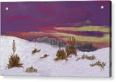 White Sands New Mexico Acrylic Print