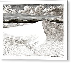 White Sands New Mexico Acrylic Print by Jack Pumphrey