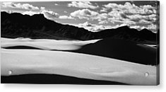 White Sands Nm Acrylic Print