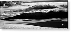 White Sands Nm Panorama Acrylic Print