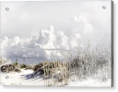 White Sands Winter Acrylic Print