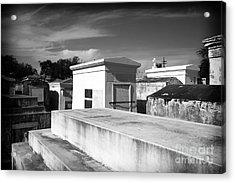 White Tombs Acrylic Print by John Rizzuto