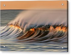 White Water Glow  Mg_0328 Acrylic Print by David Orias