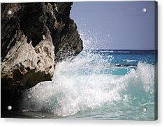 White Water Paradise Acrylic Print