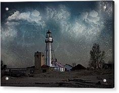 Whitefish Point Lighthouse Lake Superior Acrylic Print