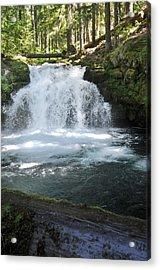 Whitehorse Falls Series 9 Acrylic Print