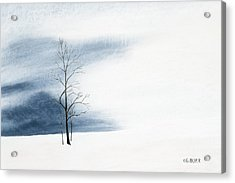 Whiteout Acrylic Print