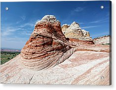 Whites Sandstone Buttes Acrylic Print