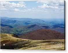 Whitetop Mountain Virginia Acrylic Print
