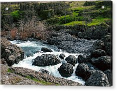Whitewater At Bear Hole Acrylic Print