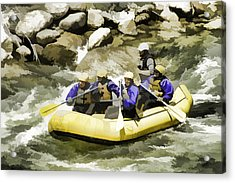 Whitewater Acrylic Print
