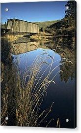 Whitman County Bridge Acrylic Print