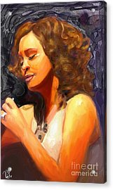 Whitney Gone Too Soon Acrylic Print