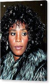 Whitney Houston 1989 Acrylic Print