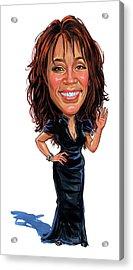 Whitney Houston Acrylic Print by Art