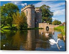 Whittington Castle Acrylic Print by David Ross
