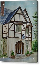 Whittington Inn - Painting Acrylic Print