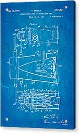 Whittle Jet Engine Patent Art 2 1946 Blueprint  Acrylic Print