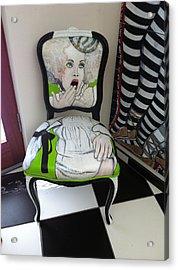 Who Chairs Acrylic Print