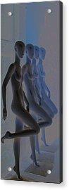 Who-men Acrylic Print