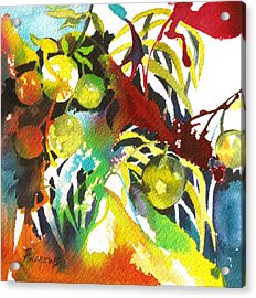 Who Wants Lemonade Acrylic Print by Rae Andrews