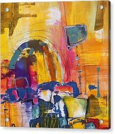 Whoopsadaisy Acrylic Print by Katie Black