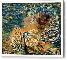 Who's Got The Pearl? Acrylic Print