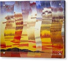 Why I Love You Acrylic Print by Jeni Bate