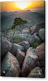 Wichita Mountains Acrylic Print by Inge Johnsson